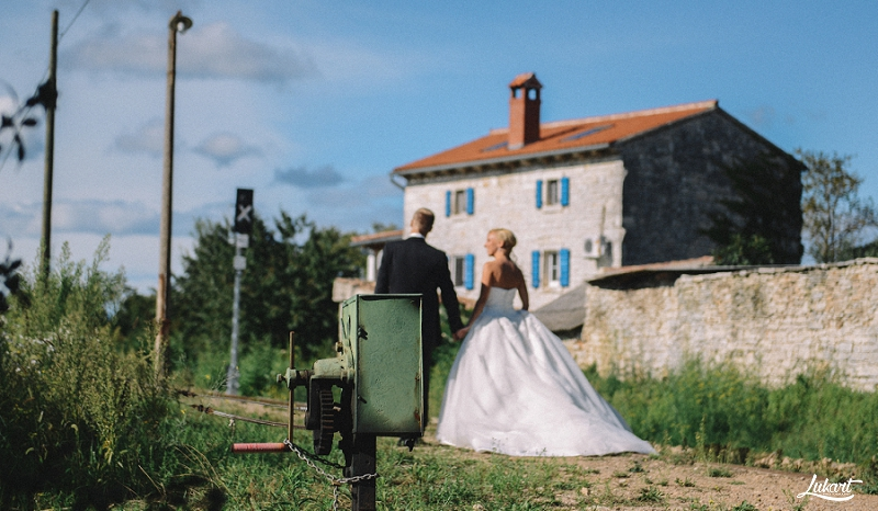 Ana + Veljko: Wedding scented with lavender