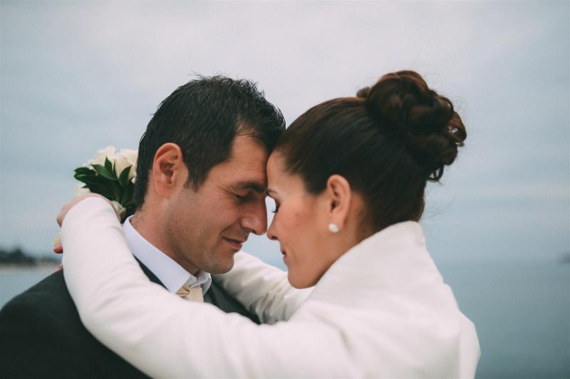 Marina + Aldo: Valentine`s Day wedding