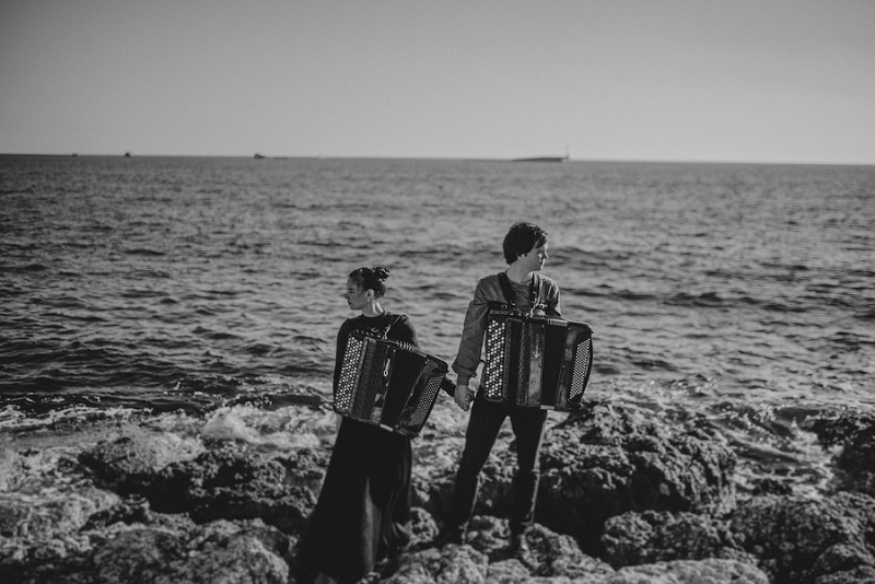 istria engagement vacation honeymoon photographer 3202 - Engagement story Mateja & Andar | The accordion players