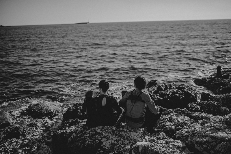istria engagement vacation honeymoon photographer 3207 - Engagement story Mateja & Andar | The accordion players