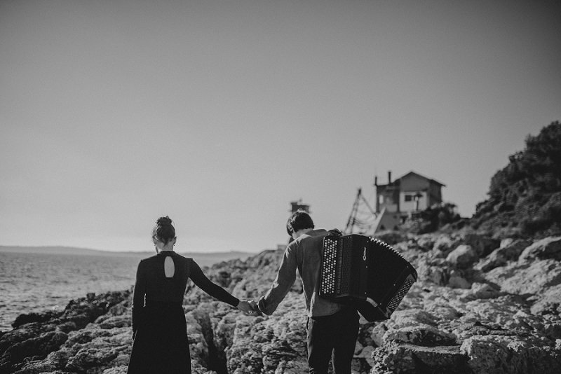 istria engagement vacation honeymoon photographer 3208 - Engagement story Mateja & Andar | The accordion players