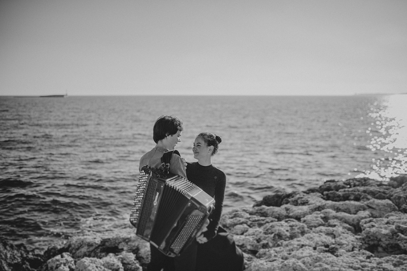 istria engagement vacation honeymoon photographer 3210 - Engagement story Mateja & Andar | The accordion players