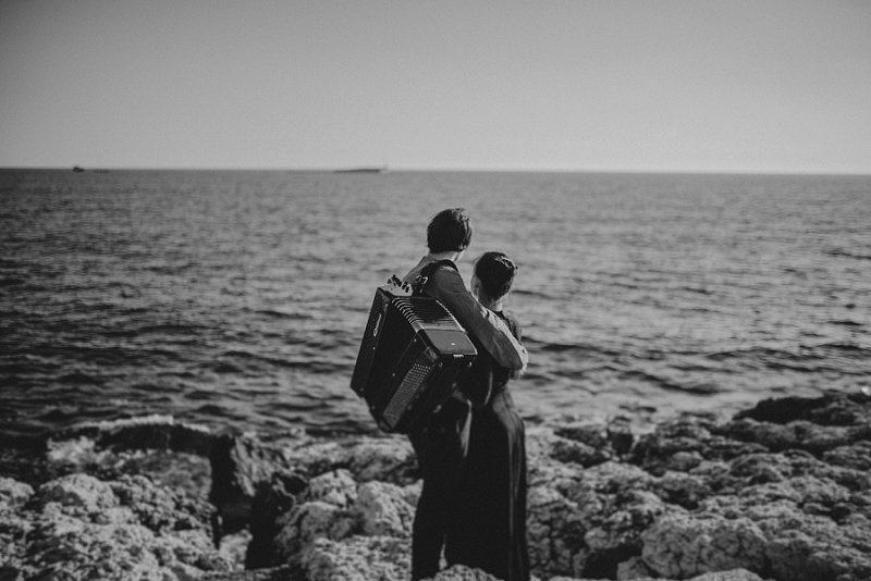 Engagement story Mateja & Andar | The accordion players
