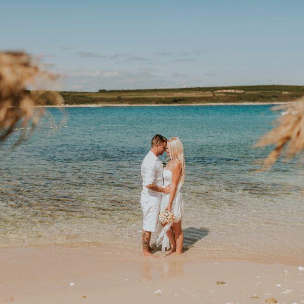 Levan beach wedding | Mateja & Mitja